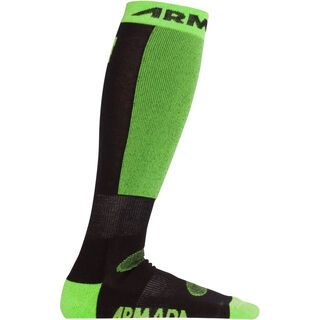 Armada Seymour Merino Sock, black - Socken