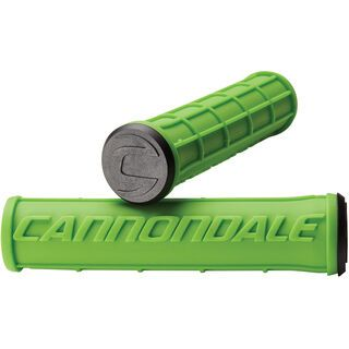 Cannondale Waffle Silicone Grips, green - Griffe