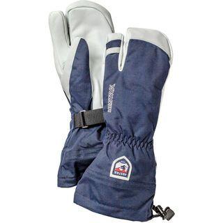 Hestra Army Leather Heli Ski 3 Finger navy