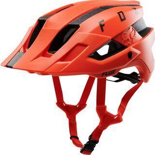 Fox Flux Solid, orange crush - Fahrradhelm