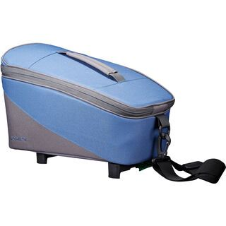 Racktime Talis Trunk Bag Eco, blueberry - Gepäckträgertasche