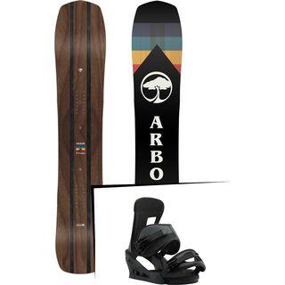 Set: Arbor A-Frame 2019 + Burton Freestyle black matte
