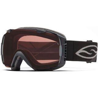 Smith I/O, black/Lens: polarized rose copper