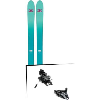 Set: DPS Skis Nina F99 Foundation 2018 + Dynafit ST Rotation 10 black