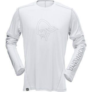 Norrona /29 tech long sleeve Shirt (M), white/ash - Funktionsshirt