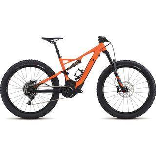 Specialized *** 2. Wahl *** Turbo Levo FSR Expert 6Fattie 2017 | Größe XL // 52 cm, moto orange/black - E-Bike