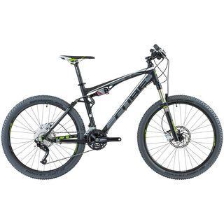 Cube AMS 110 Pro 2013, black grey green - Mountainbike