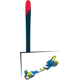 Set: DPS Skis Cassiar 95 Tour1 2018 + Tyrolia Ambition 12 soldi blue yellow