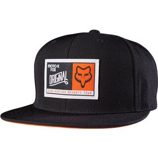 Fox Eternal Snapback Hat, black - Cap