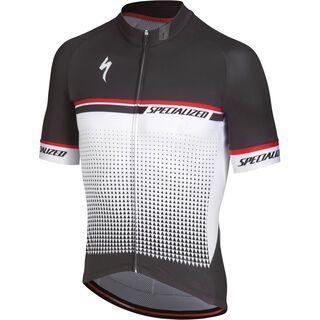 Specialized SL Expert Jersey SS, white/red - Radtrikot