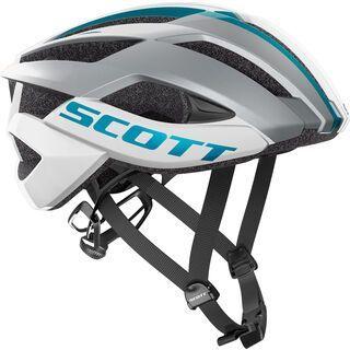 Scott Arx Plus Helmet, white/blue - Fahrradhelm
