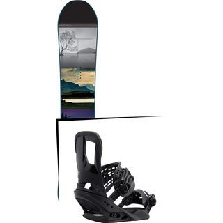 Set: Nitro Team Exposure Gullwing 2016 + Burton Cartel (1712700S)