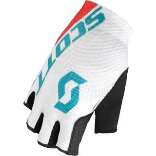 Scott Womens RC SF Glove, ocean blue/hibiscus red - Fahrradhandschuhe