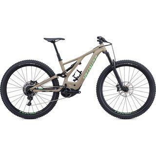 Specialized Turbo Levo FSR Comp 2019, taupe/acid kiwi - E-Bike