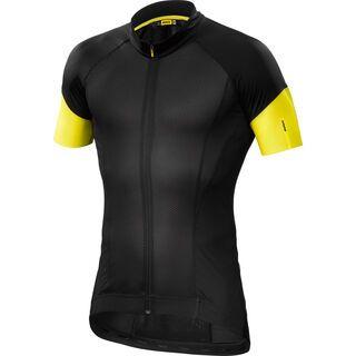 Mavic Cosmic Pro Jersey, black/yellow - Radtrikot
