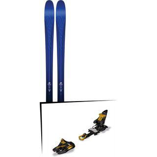 Set: K2 SKI Pinnacle 88 2017 + Marker Kingpin 13 75-100 mm, black/gold - Skiset