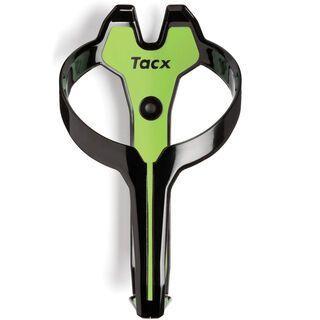 Tacx Foxy, schwarz/grün - Flaschenhalter