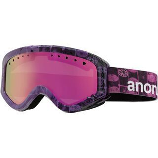 Anon Tracker Painted, Cellbloc/Pink Amber - Skibrille