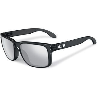 Oakley Holbrook Polarized, black ink/Lens: chrome iridium polarized - Sonnenbrille