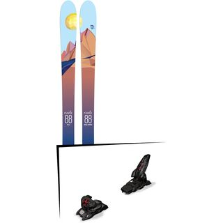 Set: Icelantic Oracle 88 2018 + Marker Jester 16 ID black