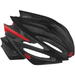Bell Volt, black/red slash - Fahrradhelm