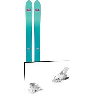 Set: DPS Skis Nina F99 Foundation 2018 + Tyrolia Attack² 12 GW matt white