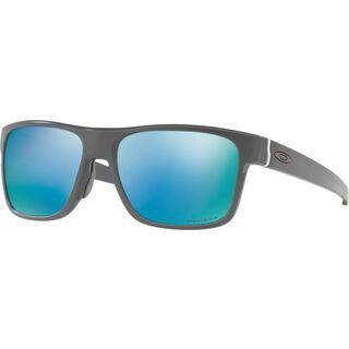 Oakley Crossrange Prizm Deep Water Polarized, matte dark grey - Sonnenbrille
