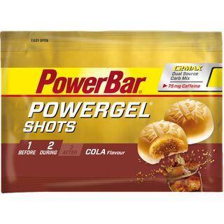PowerBar PowerGel Shots - Cola (mit Koffein) - Energie Gel