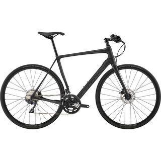 Cannondale Synapse Carbon Disc Ultegra Flatbar 2019, jet black - Fitnessbike