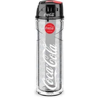 Elite Thermoflasche Vero, transparent/Coca Cola - Trinkflasche