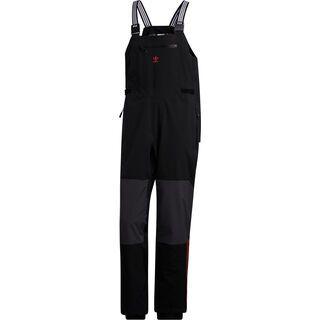 Adidas 3-Layer Bib, black/orange - Snowboardhose