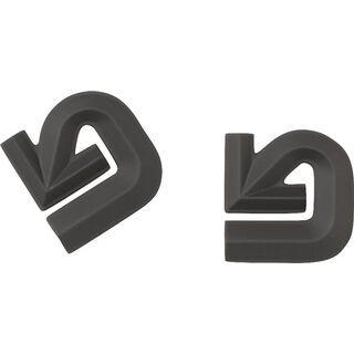 Burton Aluminum Logo Mat, black - Stomp Pad