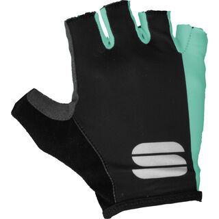 Sportful Diva W Glove, black/miami green - Fahrradhandschuhe
