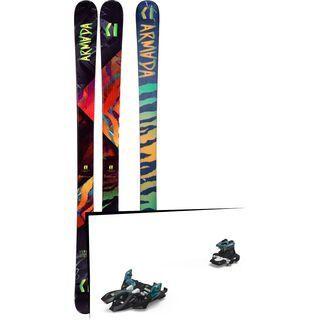 Set: Armada Arv 84 2019 + Marker Alpinist 9 black/turquoise