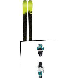 Set: K2 SKI Sight 2018 + Atomic Warden 11 DT white/mint