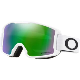 Oakley Line Miner Youth Prizm, matte white/Lens: jade iridium - Skibrille