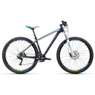 Cube Access WLS GTC Pro 29 2015, carbon/white/blue - Mountainbike