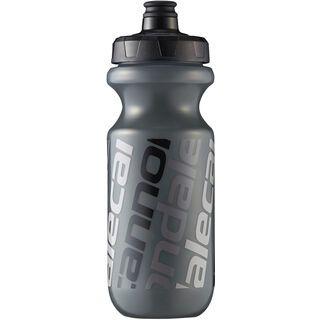 Cannondale Diagonal Logo Bottle, smoke/black - Trinkflasche