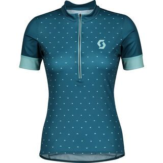 Scott Endurance 20 S/Sl Women's Shirt, lunar blue/stream blue - Radtrikot