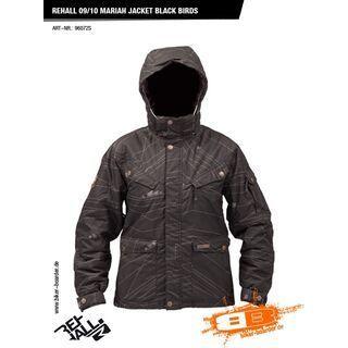 Rehall Mariah Jacket, Black Birds - Snowboardjacke