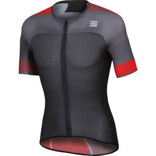 Sportful BodyFit Pro 2.0 Light Jersey, anthracite/black/red - Radtrikot