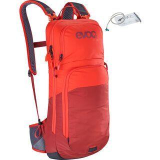 Evoc CC 10l + Hydration Bladder 2l, orange/chili red - Fahrradrucksack