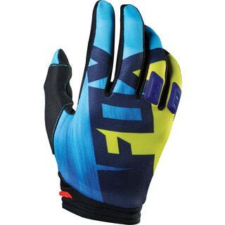 Fox Dirtpaw Vandal Glove, yellow/blue - Fahrradhandschuhe