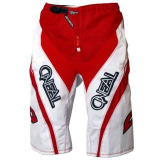 ONeal Element FR Shorts, white/red - Radhose