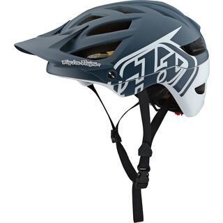 TroyLee Designs A1 Classic Helmet MIPS, gray/white - Fahrradhelm