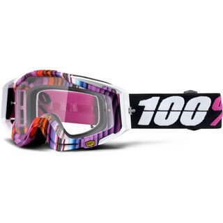 100% Racecraft, glitch/Lens: clear - MX Brille