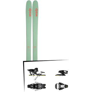 DPS Skis Set: Cassiar 95 Hybrid T2 2016 + Salomon STH2 WTR 13