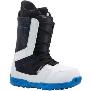 Burton Invader 2015, White/Black/Blue - Snowboardschuhe