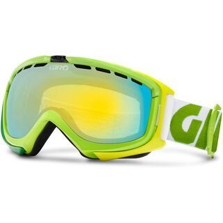 Giro Manifest, Yellow Color Block/Loden Yellow+Persimmon Boost - Skibrille