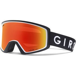 Giro Blok, black white/Lens: vivid ember - Skibrille